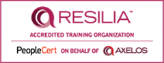 Resilia Training Organization Logo PEOPLECERT